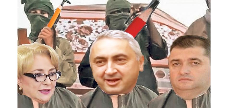 Organizația teroristă Al-Fabet a răpit guvernul României!