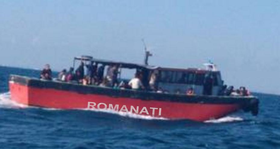 Garda de Coastă a interceptat o ambarcațiune cu refugiați caracaleni care voiau să fugă în Siria!