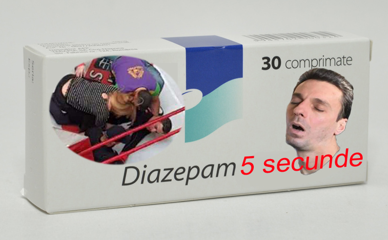 Mircea Badea este noua imagine a somniferelor Diazepam!