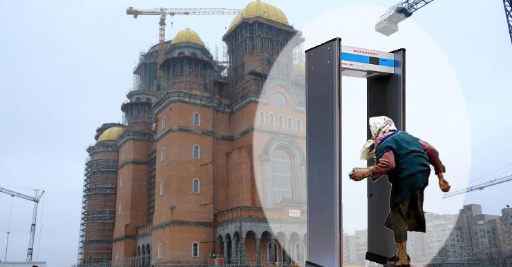 Măsuri dure din 15 mai: la ușa bisericilor va fi instalat câte un detector de metale, ca să nu se intre cu mărunțiș!