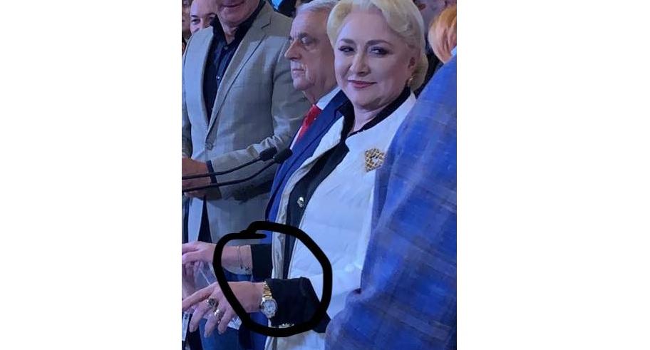 Veorica are ceas de 20.000 de euro. E făcut special pentru ea: are doar10 ore, până la cât ştie ea să numere