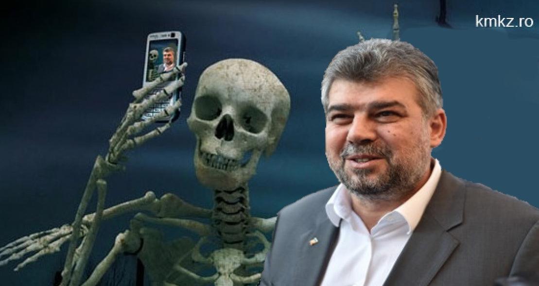 PSD a ajuns la 120% într-un sondaj realizat în cimitire!