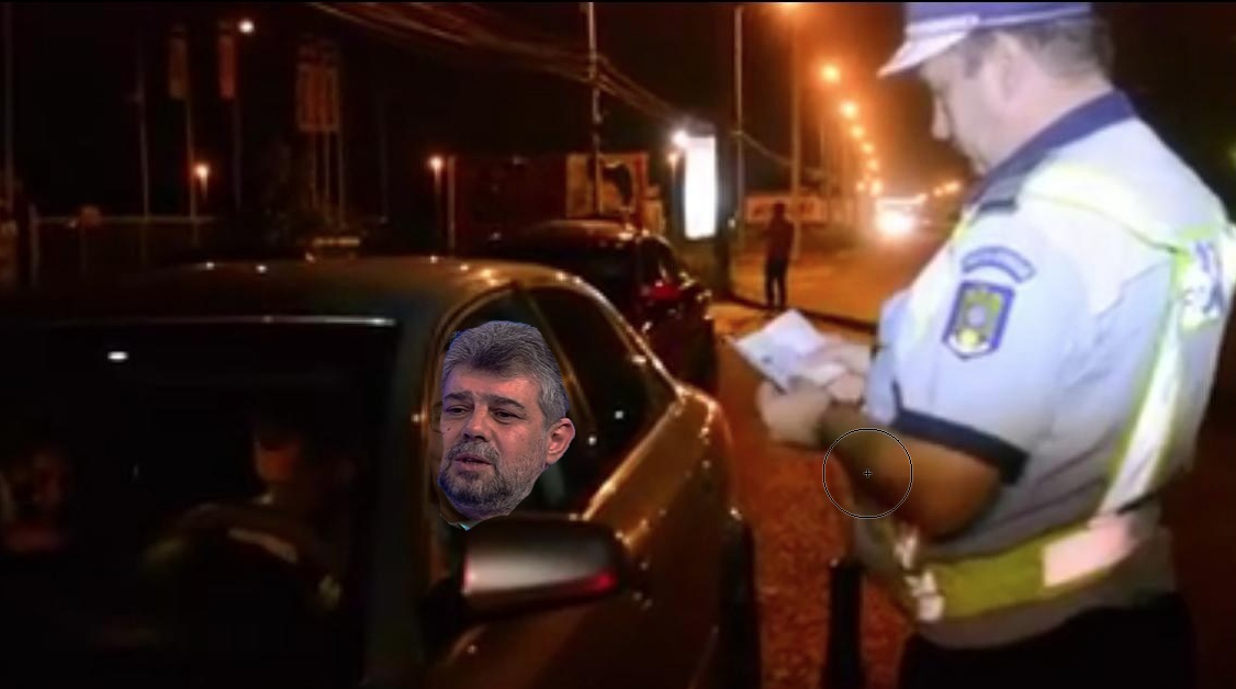 Marcel Ciolacu a fost prins prost la volan!