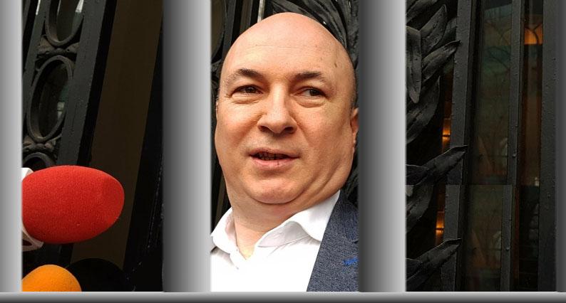Codrin Ștefănescu merge la puşcărie! Mare atenție să nu scape printre gratii, elneavând umeri!