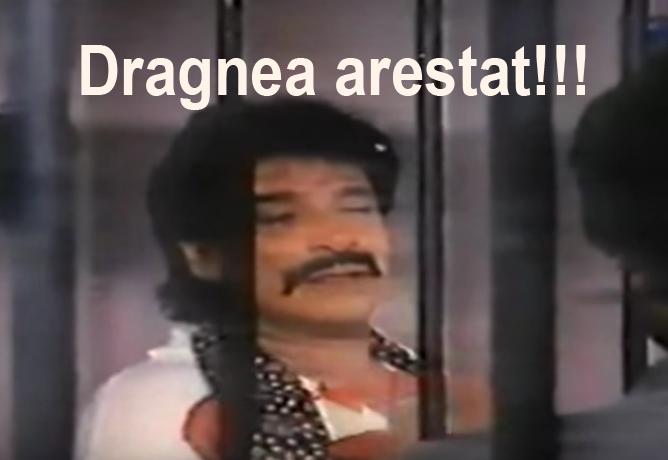 Incredibi cum l-a arestat sistemul pe Dragnea!