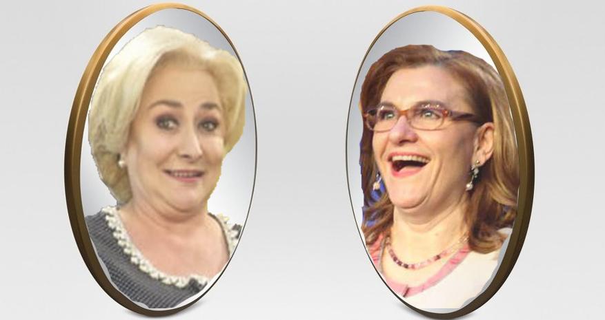 Oglindă, oglinjoară, cine-i cea mai tâmpită din țară?