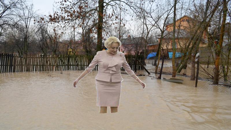 """Viorica prezintă bilanțul tragic al inundațiilor: """"Mii de draperii a fost distruse!"""""""