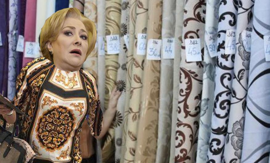 Veorica a făcut scandal într-un magazin de draperii că nu au cabină de probă!