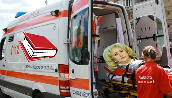Ambulanța culturală a răpit-o pe Viorica!