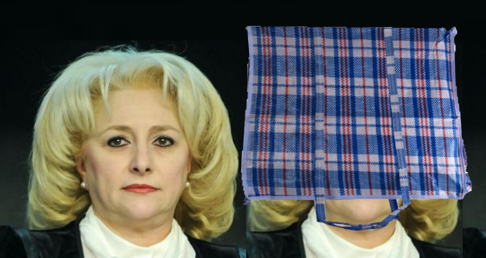 E cam țărancă, dar dacă îi pui sacoșa de rafie în cap, merge de premier în Teleormânia!