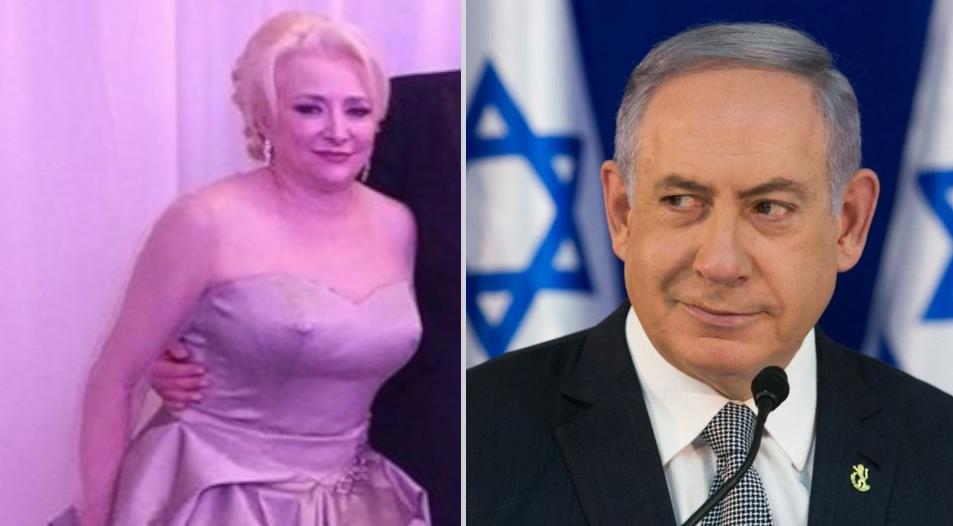 """Netanyahu i-a scris Vioricăi: """"Fă, ai idee unde au dispărut toate draperiile noastre?"""""""