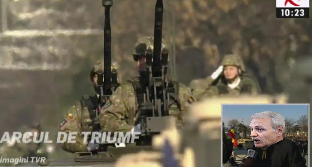 Vești proaste pentru PSD: după uniforme, pare că defilează armata noastră, nu Armata Roșie!
