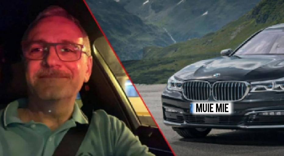 Dragnea, obligat de poliție să-și schimbe numărul de la BMWîn MUIEMIE!