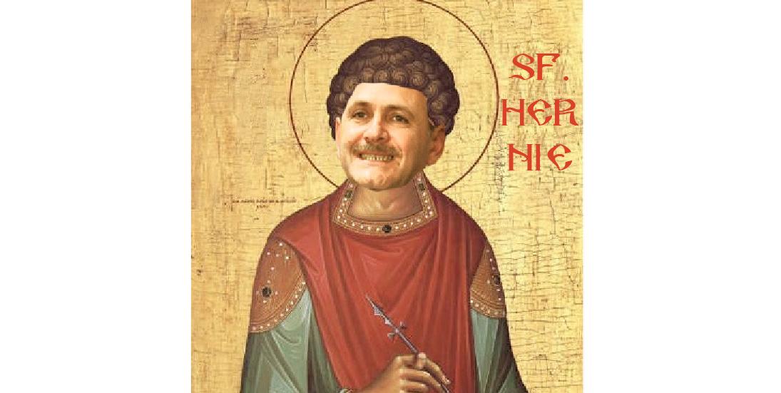 Sfântul Hernie, protectorul suferinzilor din conducerea PSD, care se îmbolnăvea înainte de termenul la proces şise vindeca miraculos imediat după!