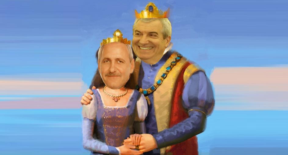 Ne întoarcem la monarhie: Dragnea și Tăriceanu au întemeiat Casa de Hoțențolern!
