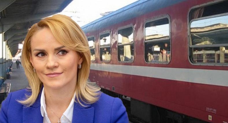 Doamna Firea, dacă vă luați de pe acum bilet pentru trenul spre Bacăude peste o săptămână, e cu 20% mai ieftin!