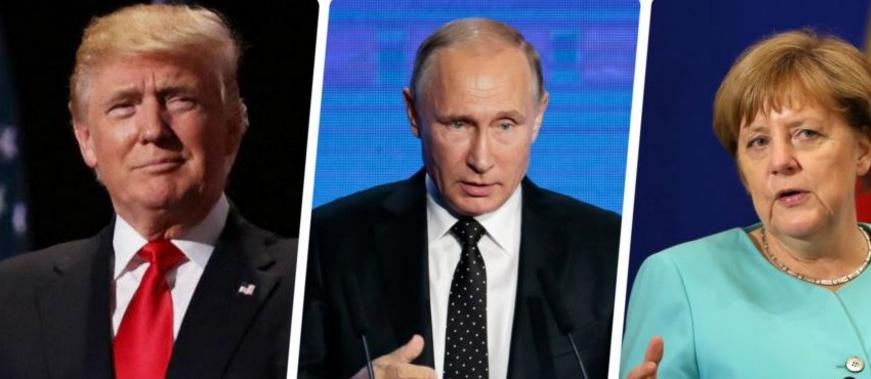 Trump, Putin și Merkel au împărțit lumea!