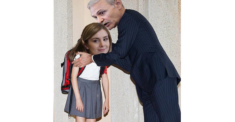 Irinuca începe luni școala. Alo, justiția, pe Daddy când îl trimiteți la facultate?