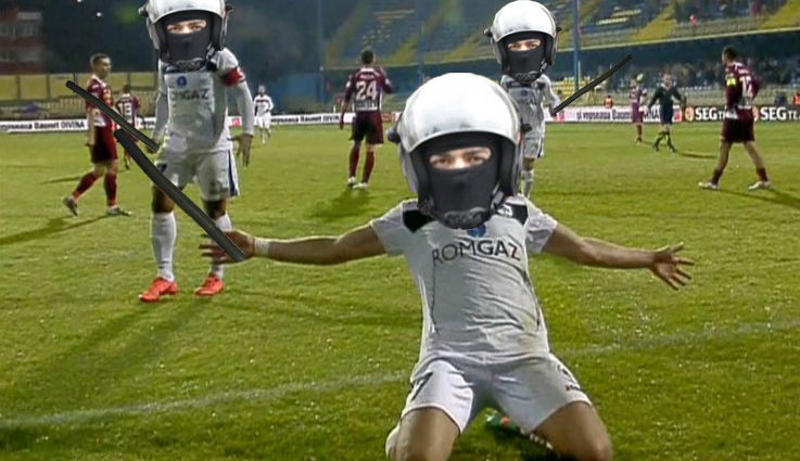 După Armatăși Poliție, și Jandarmeria și-a trasechipă de fotbal: Gaz Metan Mardeiaș!
