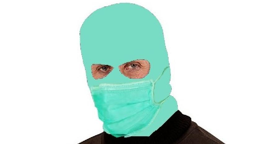 Veşti bune pentru PSD-işti: au apărut măştile anti-gripale cu care se poate merge şi la furat!