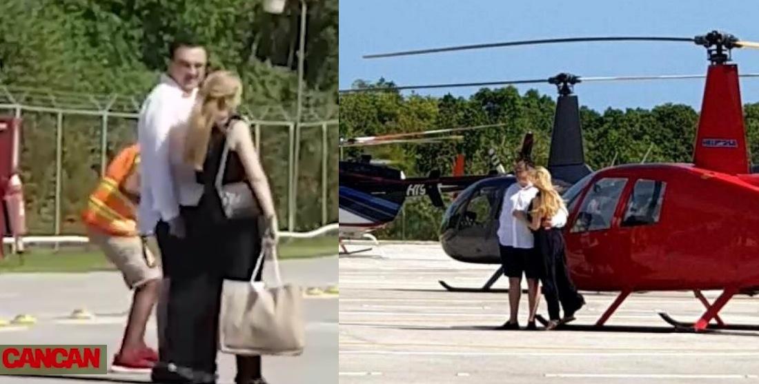 Marian Oprișan își plimbă gagica cu elicopterul. Puteai și tu, dar maică-taare pensia mică!