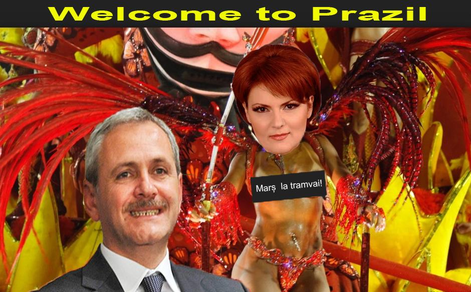 Decret Dragnea: Sudul României se va numi Prazilia