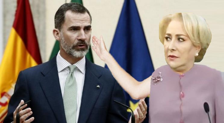 """Viorica l-a pălmuit pe regele Spaniei după ce acesta i-ar fi spus """"Muy bien""""!"""