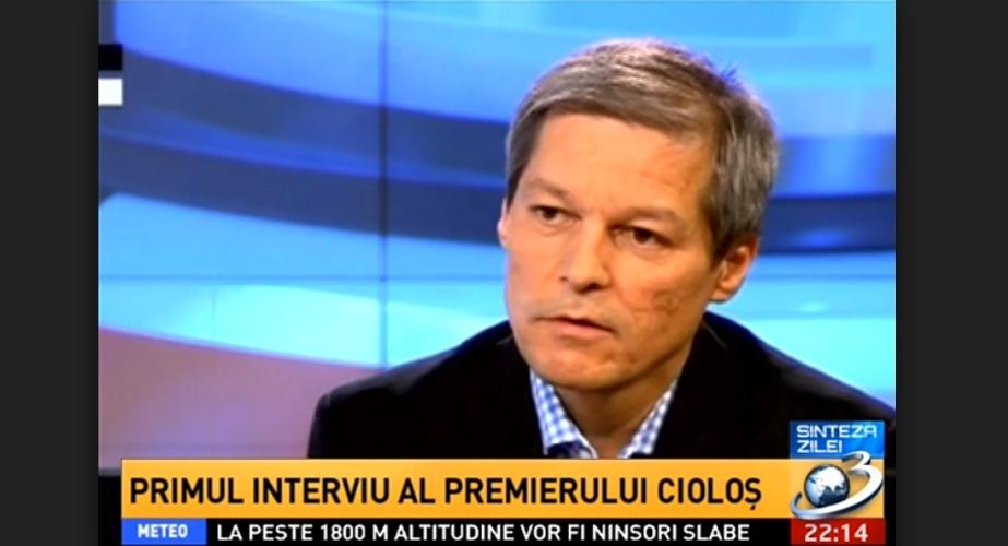 Cioloș greșește când spune că Antena 3 e mocirlă. Antena 3 e căcat