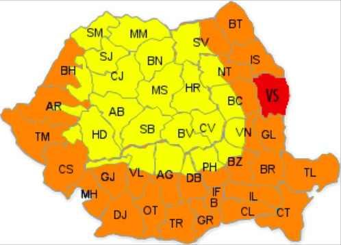 Autoritățile din Vaslui au prelungit codul de vin roșu. Până în august!