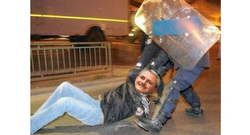 """Jandarmii l-au bătut din greșeală și pe Dragnea! """"Avea fața aia de cere pumni…"""""""