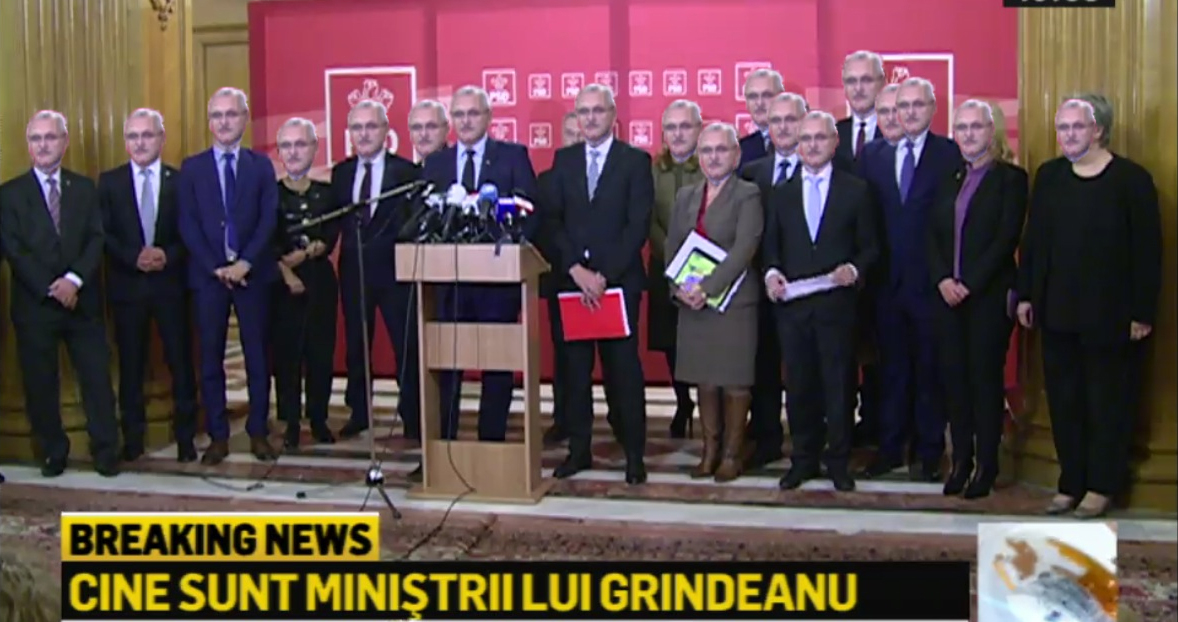 Liviu Dragnea a prezentat Guvernul Grindeanu
