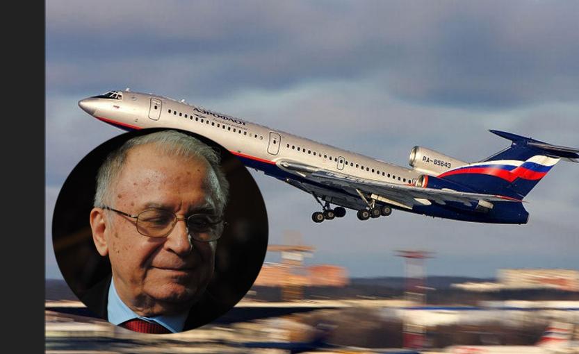 Ion Iliescu se afla în avionul rusesc prăbușit în Marea Neagră!