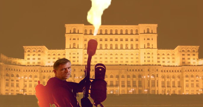 Domnu' Iohannis, după ce dați foc la toate cluburile, treceți și pe la Parlament!