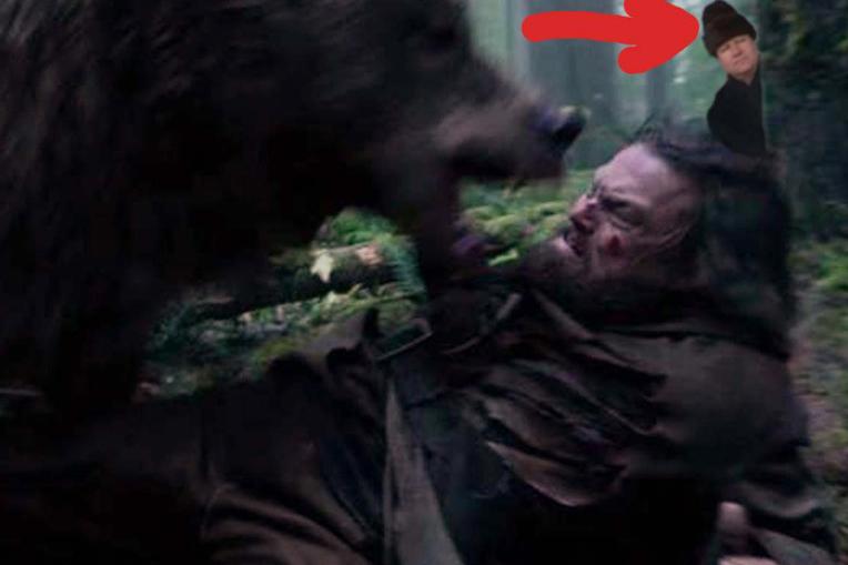 """Klaus Iohannis apare în """"The Revenant"""", urmărind cu atenție ce se întâmplă!"""
