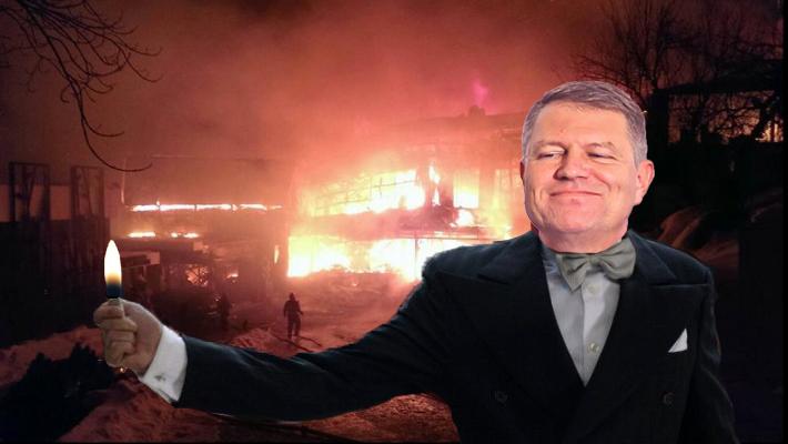 "PSD: ""Iohannis a dat foc la Bamboo Mamaia!"""