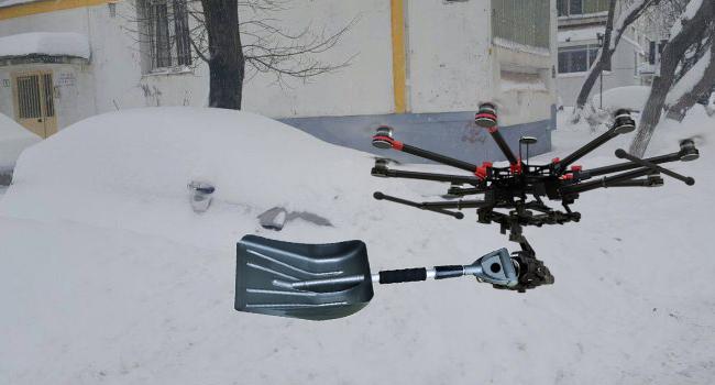 A apărut lopata tip dronă