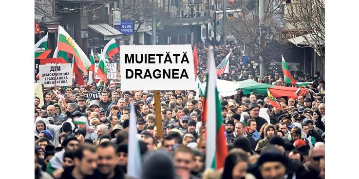 Miting și în Bulgaria: MUIETĂTĂ DRAGNEA!