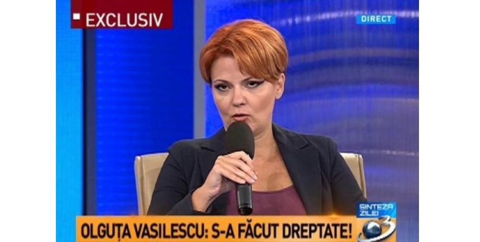 """Olguța, noua ministră a Muncii: """"Reducem ziua de lucru la 4 ore pentru ca oamenii să stea mai mult pe Antena3"""""""