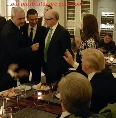 """Donald Trump, după întâlnirea cu Dragnea și Grindeanu: """"Curvele din România sunt mai bune decât rusoaicele"""""""