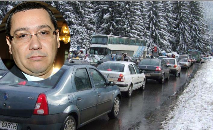 Ponta a găsit vinovații pentru ambuteiajul de pe DN1: