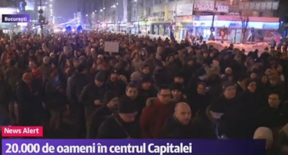 20.000 de oameni în stradă, doar în București. Dar nu vă bucurați, Dragnea și Voiculescu nu vor renunța