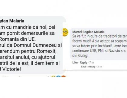 AUR - filiala Italia scoate Româniadin UE si după aia ne trimite în gulag