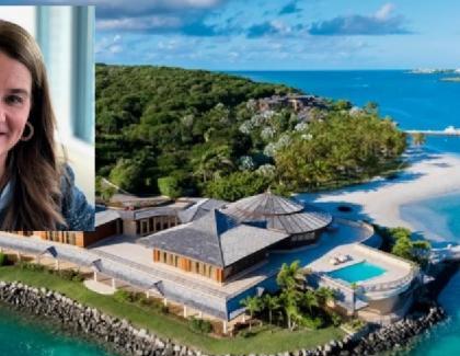 """Melinda Gates îşi revine greu după despărțirea de tocilar: în Caraibe, la170.000 de dolari pe noapte. Din care doar prosopul marca """"Marica"""" e vreo 10.000. Pe oră"""