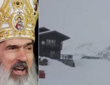 Stratul de zăpadă la Bâlea Lac a ajuns la 21 de centimetri. Dacă vede Teodosie, duminică avem Crăciun!
