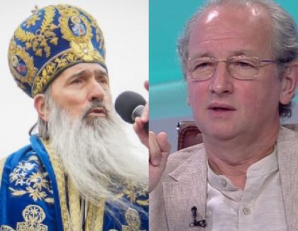 """Dan Puric: """"Înaltul Teodosie este o verticalăa ortodoxiei româneşti!"""" Asta e solidaritate de breaslă. Dar nu pe ortodoxie, ci pe turnătorie"""