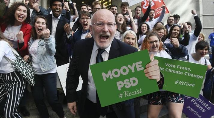 Prima reacție a lui Frans Timmermans după câștigarea alegerilor!